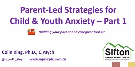 Parent-Led Strategies for Child Anxiety - Anxiety Strategies Part 1 tickets