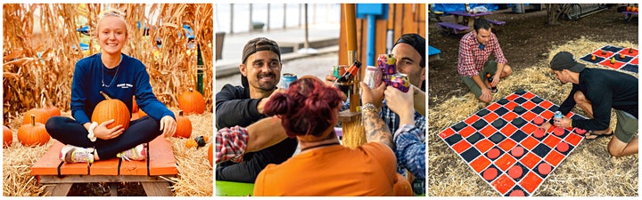 Island Party Hut Fall Fest on the Riverwalk - Hayrides on the River & More! image