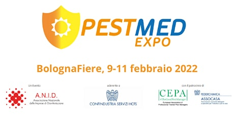 PESTMED EXPO  - Your visitor badge biglietti