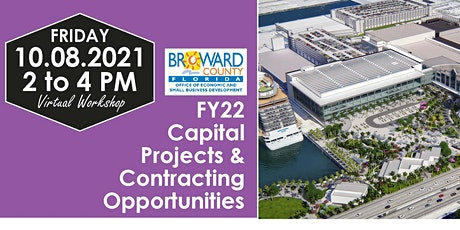 FY22 Capital Projects & Contracting Opportunities Virtual Workshop tickets