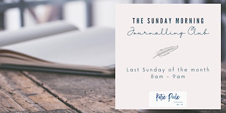 The Sunday Morning Journalling Club tickets