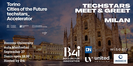 Techstars Meet & Greet - Milan biglietti