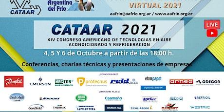 XIV CONGRESO AMERICANO DE TECNOLOGIAS EN AIRE ACONDICIONADO Y REFRIGERACION entradas