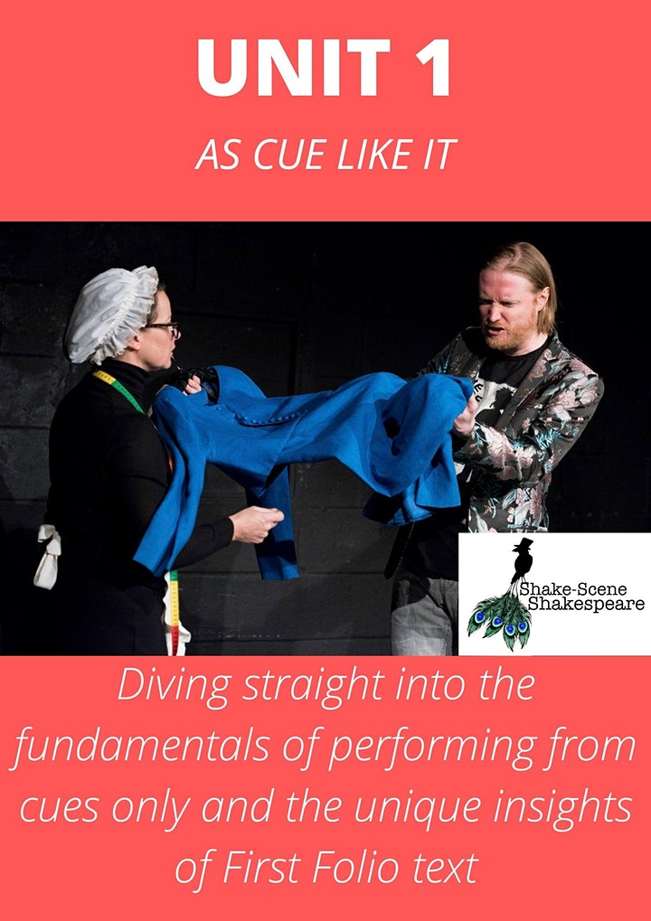 Acting Shakespeare from Cues Only: UNIT 1 (As Cue Like It) image
