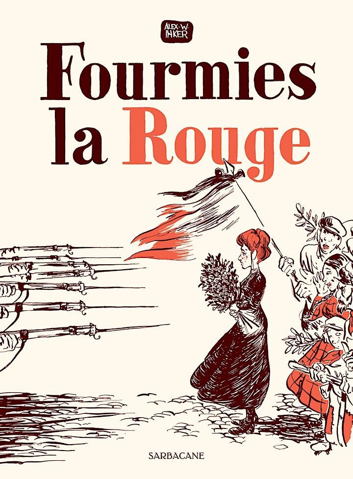 Image pour Rencontre BD avec Alex W. Inker, auteur de Fourmies la Rouge