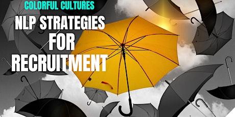 NLP Strategies for Recruitment - MetaPrograms webinar tickets