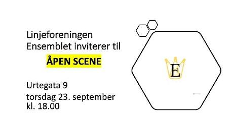 ÅPEN SCENE 23.09.2021 tickets