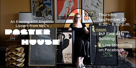 An Evening with Angelina Lippert from NYC's Poster House tickets