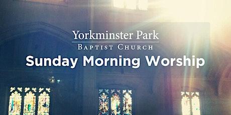 Sunday Worship Service - October 17, 2021 tickets