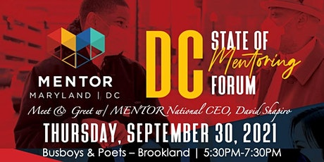 DC Mentoring Meet & Greet w/David Shapiro, MENTOR National CEO tickets
