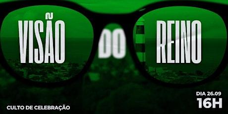 CELEBRAÇÃO CARVALHO 26.09 ÀS 16H ingressos