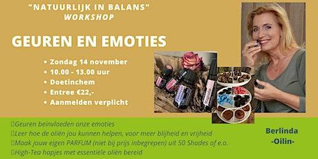 """Workshop Geuren en Emoties """"Sint Special"""" tickets"""