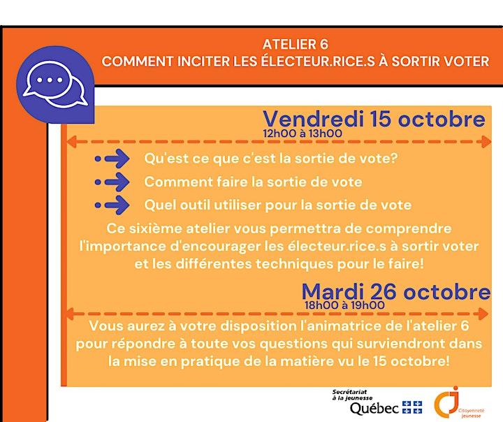 Image de Parole aux jeunes - Atelier 6: Comment inciter les électeur.rice.s à voter