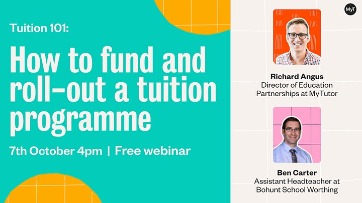 Tuition 101: how to fund and roll-out a tuition programme image