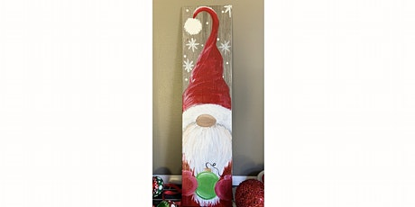 Christmas Gnome on Tile  - Paint & Sip Paint Night Akron tickets