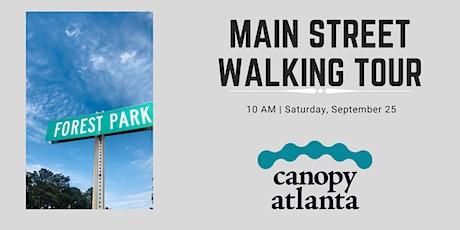 Forest Park: Main Street Walking Tour tickets