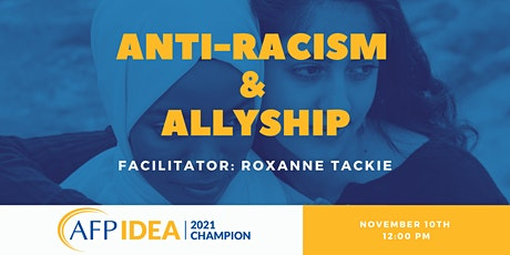 Anti-racism and Allyship - Conversation Series tickets
