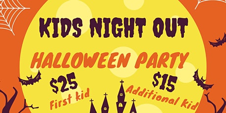 Kids Night Out - Halloween Party tickets