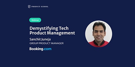 Webinar: Demystifying Tech Product Management by Booking.com Group PM tickets