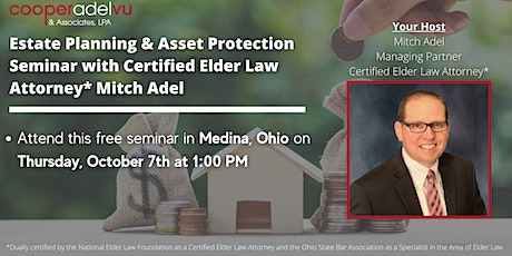 Estate Planning & Asset Protection Workshop with Attorney Mitch Adel tickets