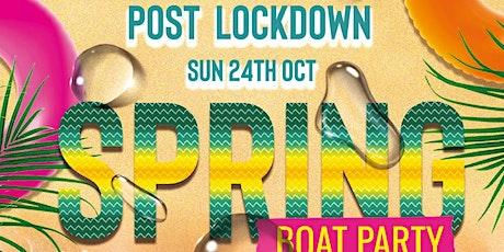FREAKYSUNDAYAFROVIBEZ- SPRING PARTY BOAT tickets
