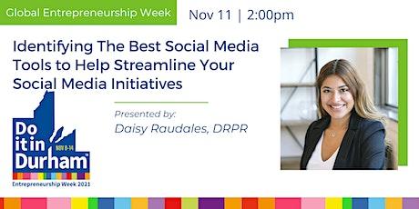 Best Social Media Tools to Help Streamline Your Social Media Initiatives tickets