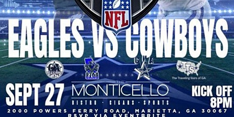MONDAY NIGHT FOOTBALL - PHILADELPHIA EAGLES VS. DALLAS COWBOYS @ MONTICELLO tickets