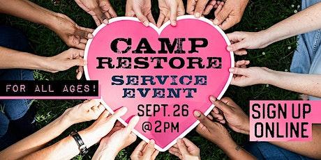 Camp Restore tickets