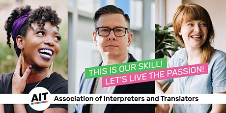 Introducing AIIC, the International Association of Conference Interpreters tickets