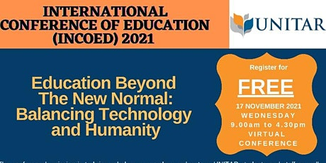 International Conference of Education (INCOED 2021) tickets
