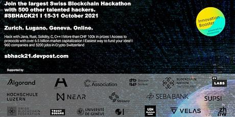Swiss Blockchain Hackathon 2021 #SHBACK21 tickets