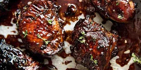 UBS - Virtual Cooking Class: Balsamic + Fig Glazed Chicken tickets