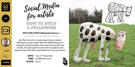 Social Media for Artists: How to Build a Following tickets