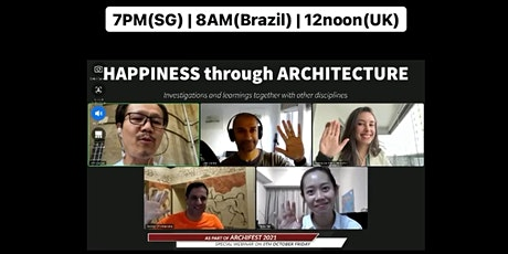 Happiness Through Architecture tickets