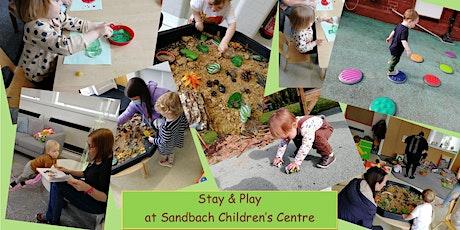 Stay & Play at Sandbach Children's Centre tickets