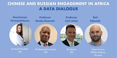Chinese and Russian Engagement in Africa: A Data Dialogue tickets