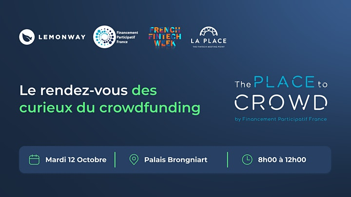 Image pour French Fintech Week : The Place to Crowd