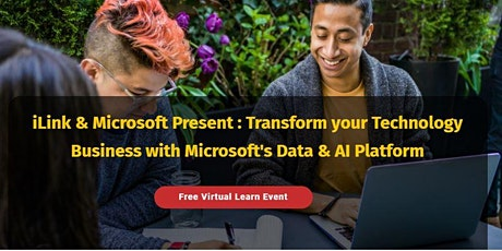 Transform your Technology Business with Microsoft's Data & AI Platform tickets