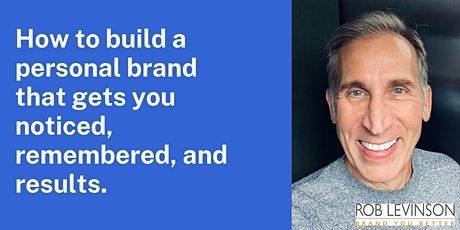Speed Branding with Rob Levinson tickets