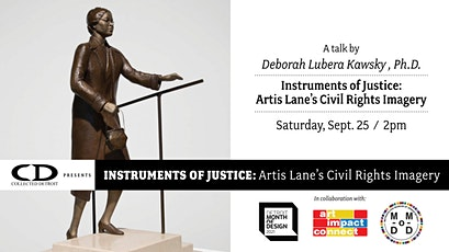 Talk - Instruments of Justice: Artis Lane's Civil Rights Imagery tickets