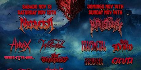 Dragon Rojo Metal Fest Tijuana 2021 tickets