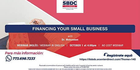 Financing your Small Businesses Webinar tickets