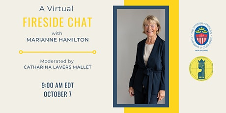 A Virtual FIRESIDE CHAT  with Marianne Hamilton tickets