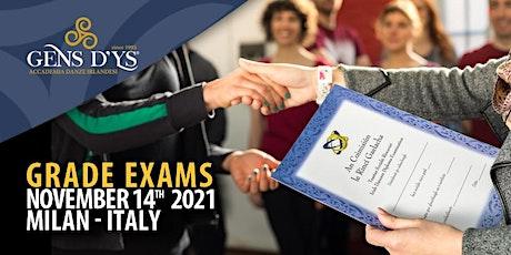 Grade Exams 2021 biglietti