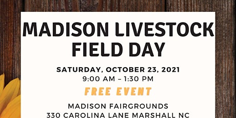 Madison Livestock Field Day tickets