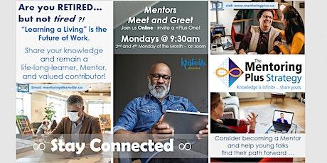 Mentors Meet and Greet - Online Option tickets