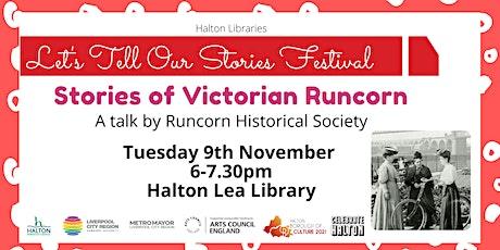 Stories of Victorian Runcorn tickets