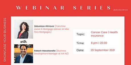 What do you need to know about Cancer Care in New Zealand? tickets