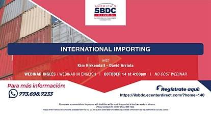International Importing Webinar boletos