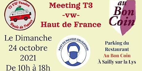 Rassemblement VW T3 Hauts de France tickets